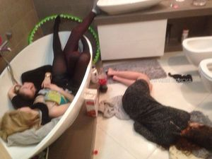 Уснули пьяными 5 фото