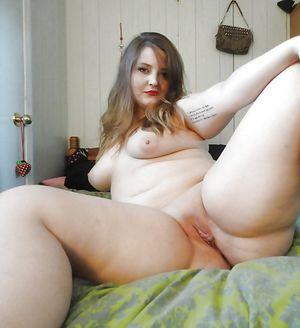 Подборка фото жирных девиц