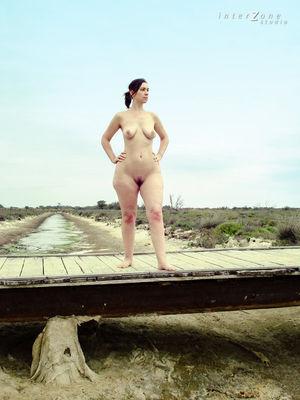 Прогулка голой дамочки 12 фото