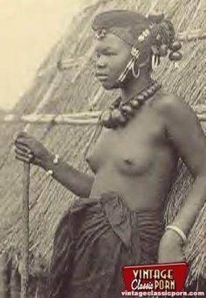 Винтажные фотографии негритянок африканских племен 10 фото