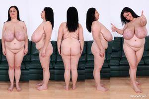 Пухлая женщина выставила сое вымя 27 фото