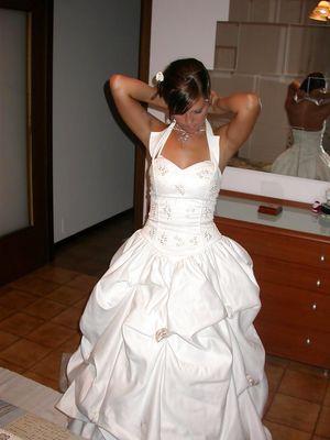 Домашнее фото первой брачной ночи 4 фото