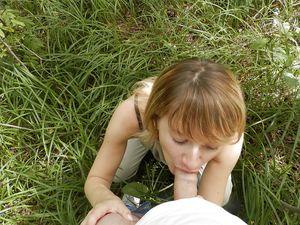 Секс в лесу 7 фото