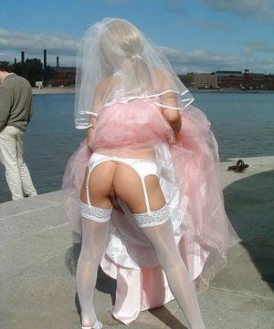 Фото развратные невесты. 5 фото