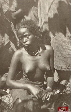 Винтажные фотографии негритянок африканских племен 3 фото