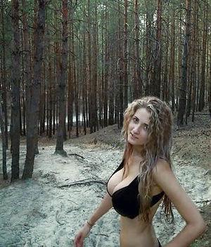 Собрание порно фото молодой блондинки на природе 11 фото