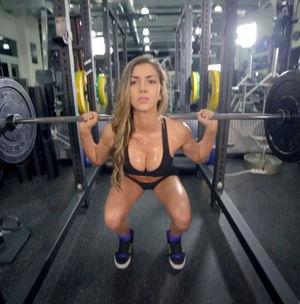 Анелла Сангра - спортивная девушка 3 фото