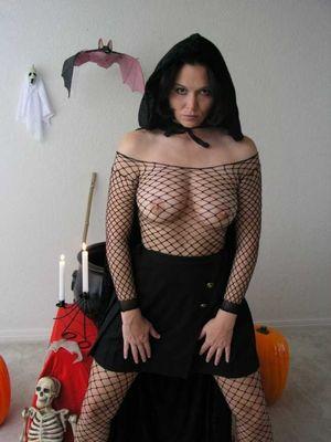 Мамки отрываются на Хэллоуине 10 фото