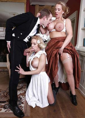 Мужчины трахают своих служанок 1 фото