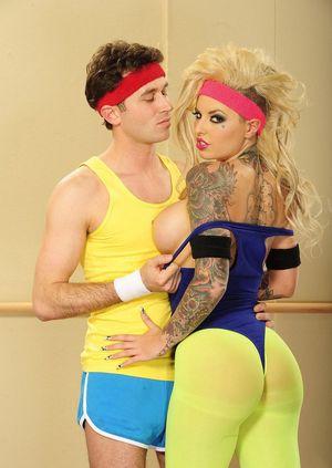 Секс с тренером по фитнесу