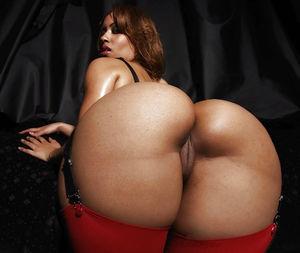 Фотомикс больших задниц