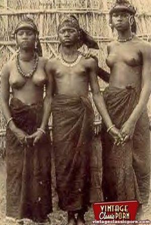 Винтажные фотографии негритянок африканских племен 9 фото