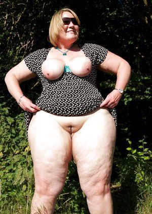 Фото толстых женщин в годах