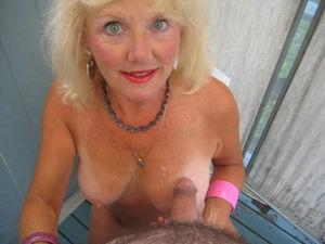 Старухи со спермой на лице 3 фото