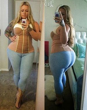 Тетка с огромной жопой 3 фото
