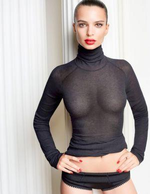 Откровенные фото модели (Эмили Ратажковски) 6 фото